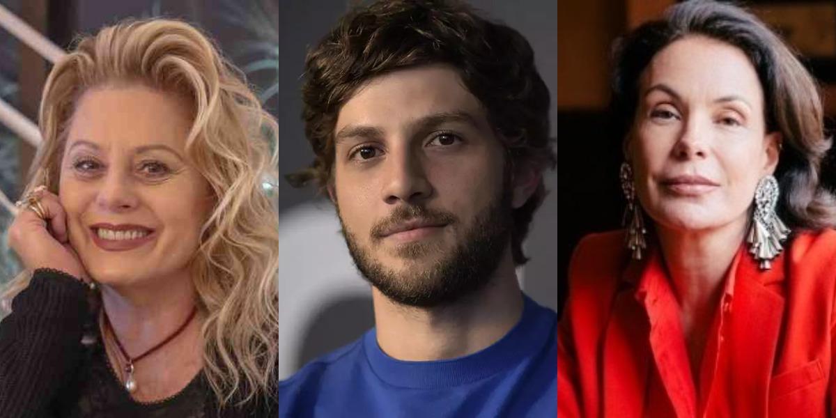 Vera Fischer, Chay Suede e Carolina Ferraz são uns dos famosos que aprontaram nos bastidores da Globo (Foto: Reprodução)