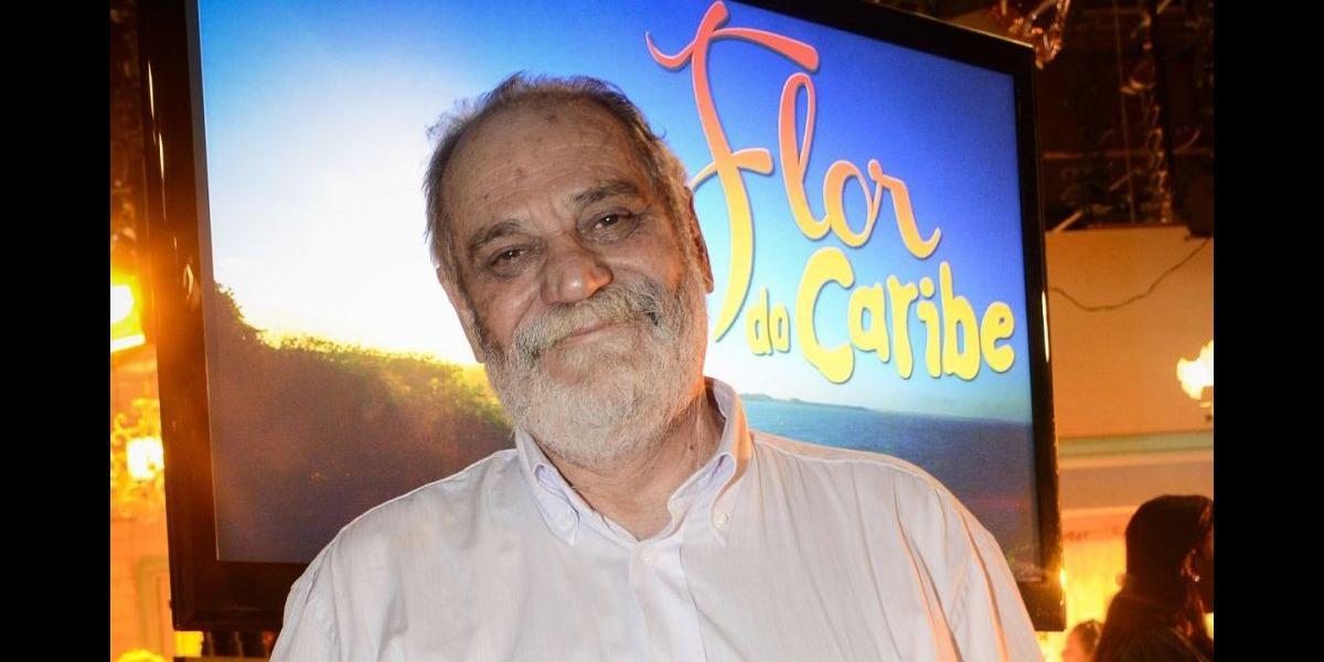 Walther Negrão, autor de Flor do Caribe, é internado às pressas (Foto: Reprodução)