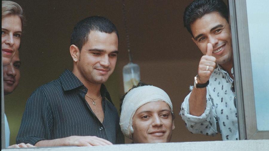 Irmão dos cantores sofreu sequestro (Foto: Reprodução)