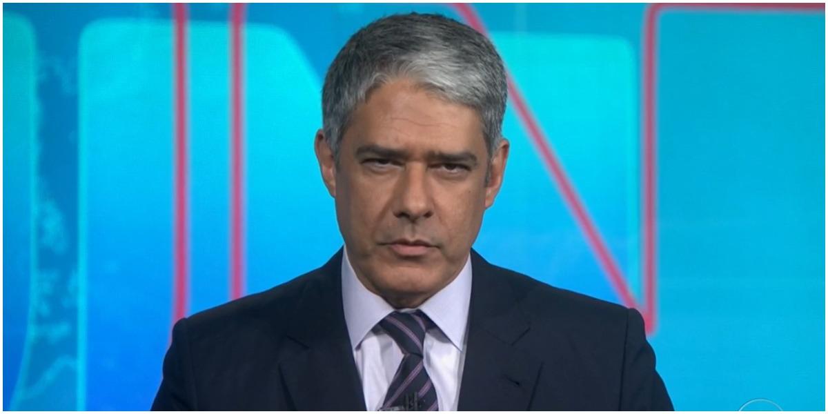 William Bonner comanda o Jornal Nacional na Globo - Foto: Reprodução