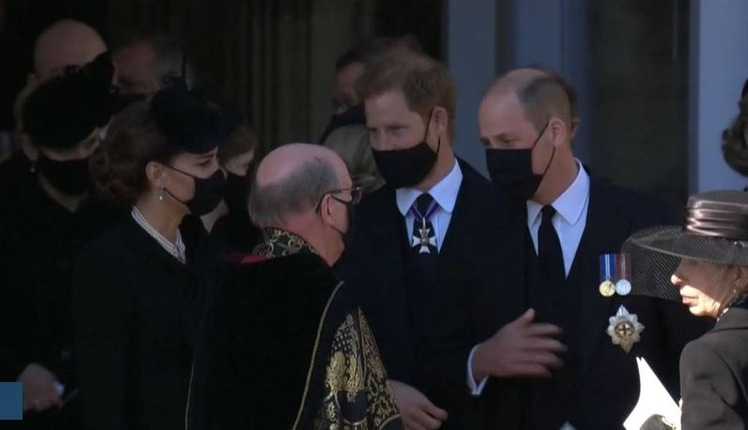 William e Harry, netos do príncipe Philip - Foto: Reprodução