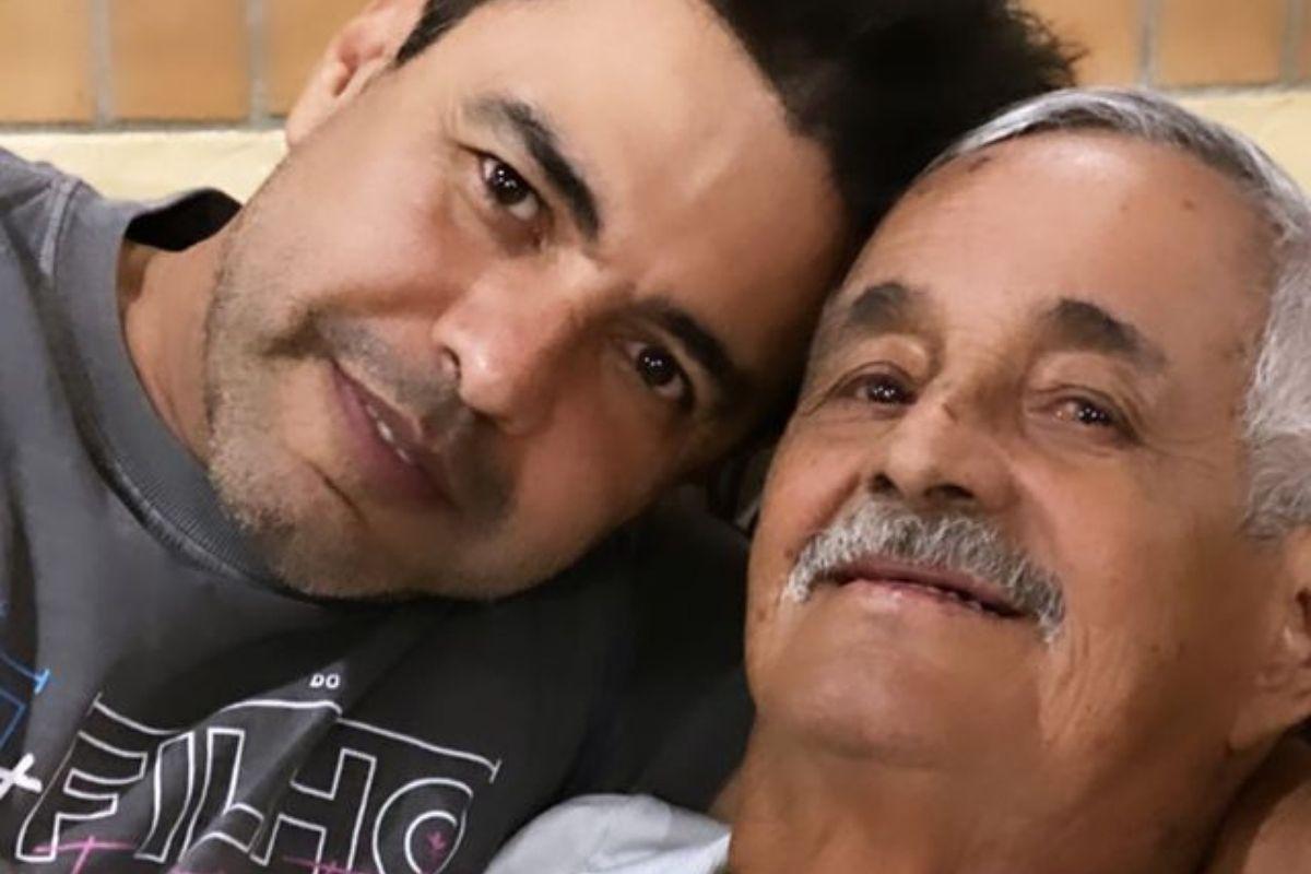 Zezé Di Camargo e pai Francisco (Foto: Reprodução/ Instagram)