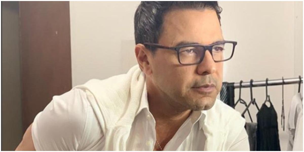 Zezé Di Camargo expõe como foi composição de música que o fez conhecido em todo o país (Foto: Reprodução)
