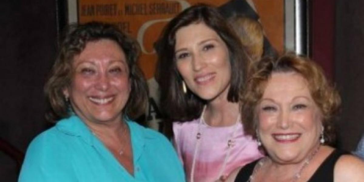 Bárbara Bruno, Beth Goulart e Nicette Bruno (Foto: Reprodução)