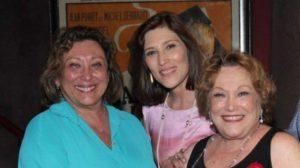 Beth Goulart e sua família