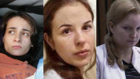 Anna Jatobá Nardoni, Suzane Von Richthofen e Eliza Matsunaga (Imagem: Montagem/TV Foco(
