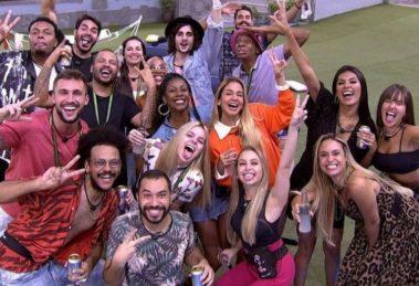 BBBB21 foi um grande sucesso na tela da TV Globo (Foto: Reprodução)