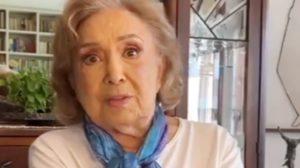 Eva Wilma encontra-se internada em hospital e foi diagnosticada com câncer (Foto: Reprodução)