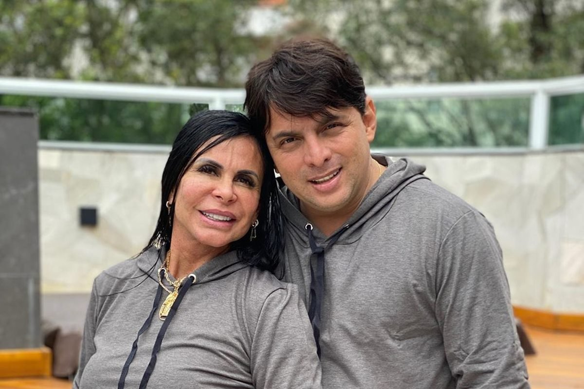 Gretchen e Esdras de Souza