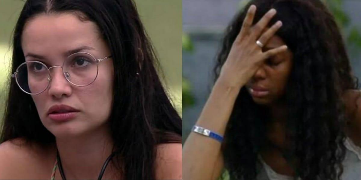 Juliette e Camilla se desentendem no BBB21 (Foto: Reprodução)