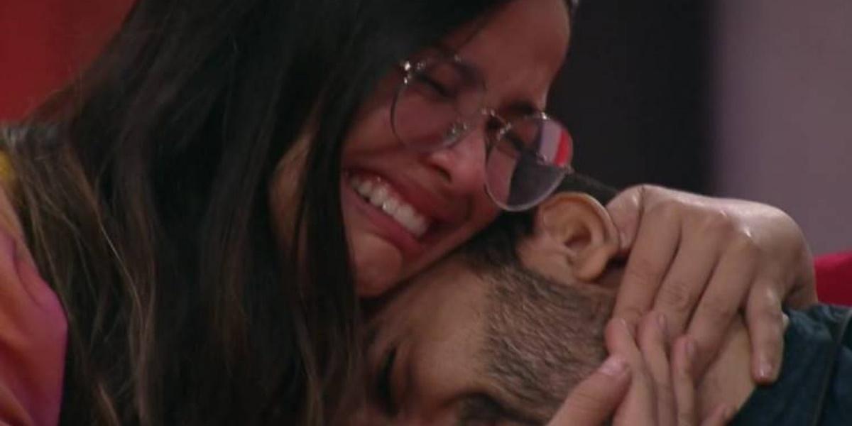 Equipe de Juliette decidiu salvar Camila de Lucas e puxar mutirão para tirar Gilberto do BBB21 (Foto: Reprodução / TV Globo)