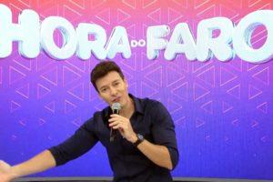 Rodrigo Faro registrou pior audiência desde 2014 (Foto: Reprodução)
