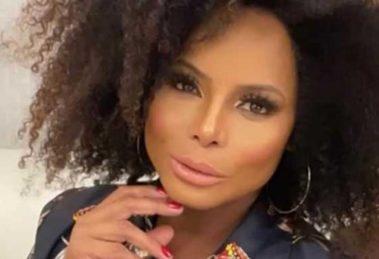 Adriana Bombom lamentou doença do marido (Foto: Reprodução)