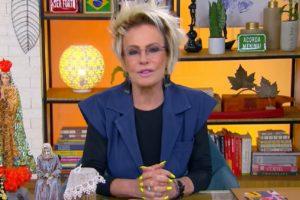 Ana Maria Braga escandaliza ao revelar envolvimento com triângulo amoroso (Foto: Reprodução/Globo)