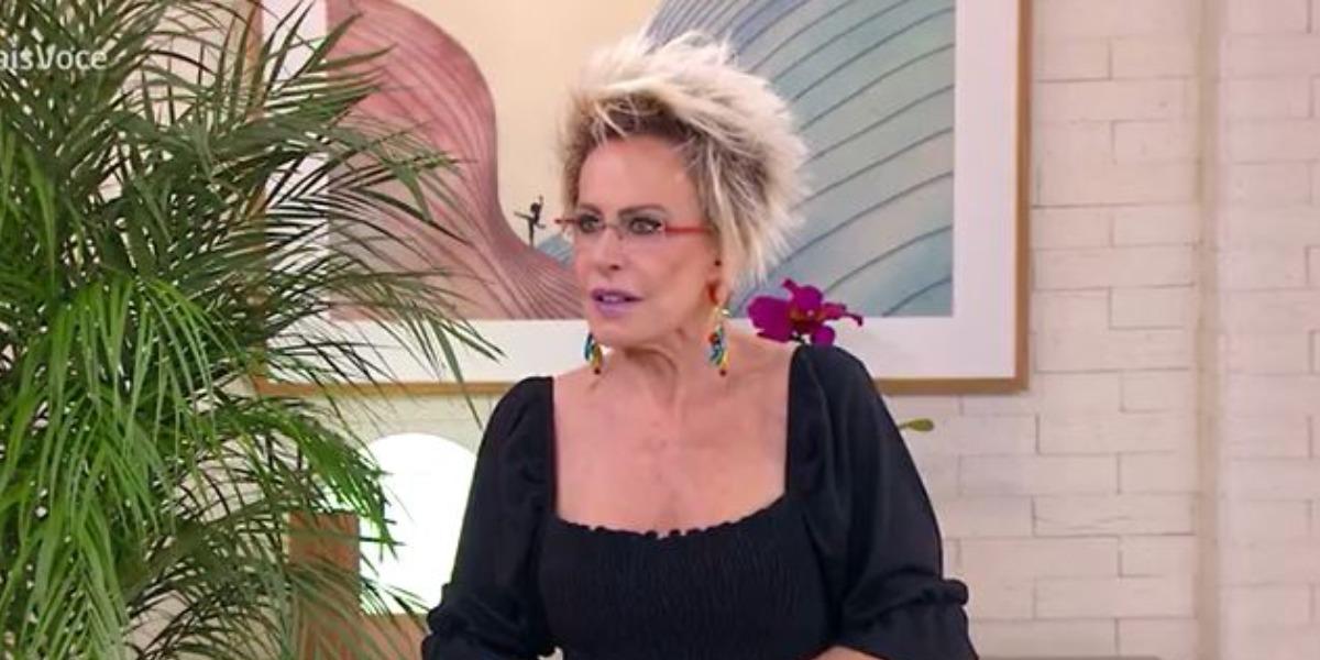 Ana Maria Braga sofreu queda em audiência (Foto: Reprodução/TV Globo)