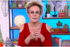 Ana Maria Braga surpreendeu no Mais Você, da Globo - Foto: Reprodução