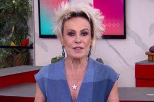 A apresentadora Ana Maria Braga se envolveu em polêmica
