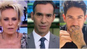 Ana Maria Braga, César Tralli e Alexandre Pato são destaques (Foto: Reprodução)