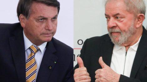 Bolsonaro promove ataque contra Lula (Foto: Reprodução)
