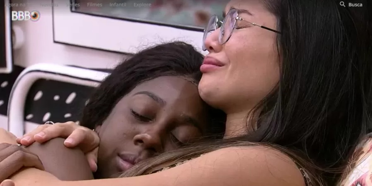 Após brigarem, Camilla e Juliette fizeram as pazes no BBB (Foto: Reprodução/ TV Globo)