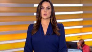 Carla Cecato no comando do Fala Brasil (Foto: Reprodução)