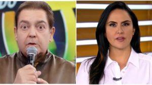 Carla Cecato já trabalhou com Faustão na Globo (Foto: Reprodução)