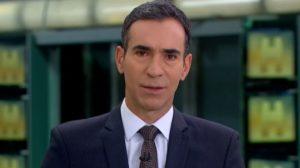 """César Tralli passa Maju pra trás, assume Jornal Hoje e entrega toda a verdade na Globo: """"Está suspensa"""""""