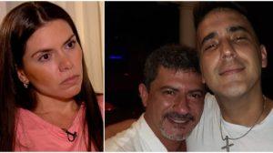 Cybelle Veiga falou sobre a relação de Tom Veiga com André Marques (Foto: Reprodução)