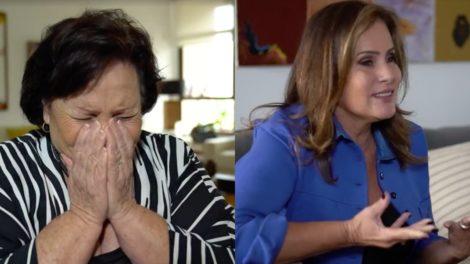 Mãe de Paulo Gustavo não segura a emoção ao falar do filho (Foto: Reprodução)