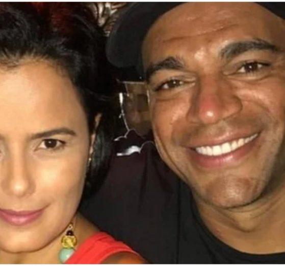 Denílson é casado com Luciele Di Camargo com quem tem dois filhos (Foto: Reprodução)