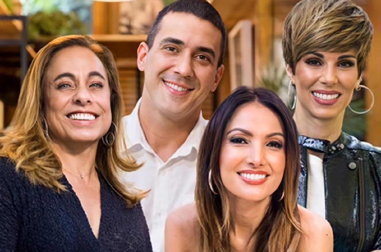 Apresentadores do É de Casa ganham salários gordos na Globo (Foto: Reprodução/Globoplay)