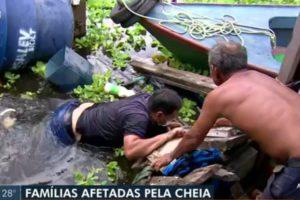Equipe de jornalistas da Globo sofre acidente durante transmissão ao vivo (Foto: Reprodução)