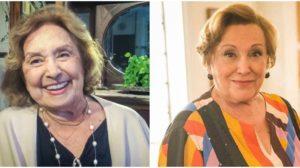 Eva Wilma e Nicette Bruno faleceram - Foto: Montagem