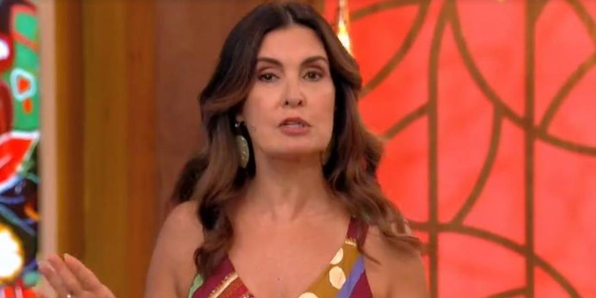 """Fátima Bernardes perdeu comunicação no """"Encontro"""" (Foto: Reprodução/TV Globo)"""