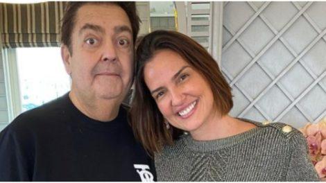 Esposa de Faustão se derreteu em elogios ao apresentador (Foto: Reprodução/ Instagram)