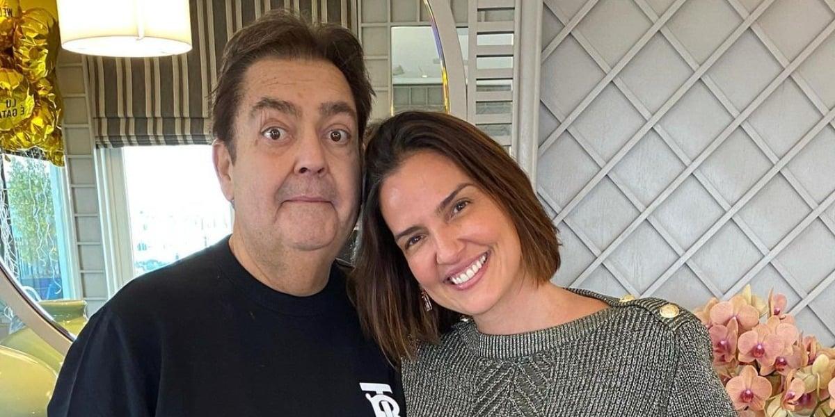 Faustão e Luciana Cardoso são casados desde 2002 (Foto: Reprodução/Instagram)