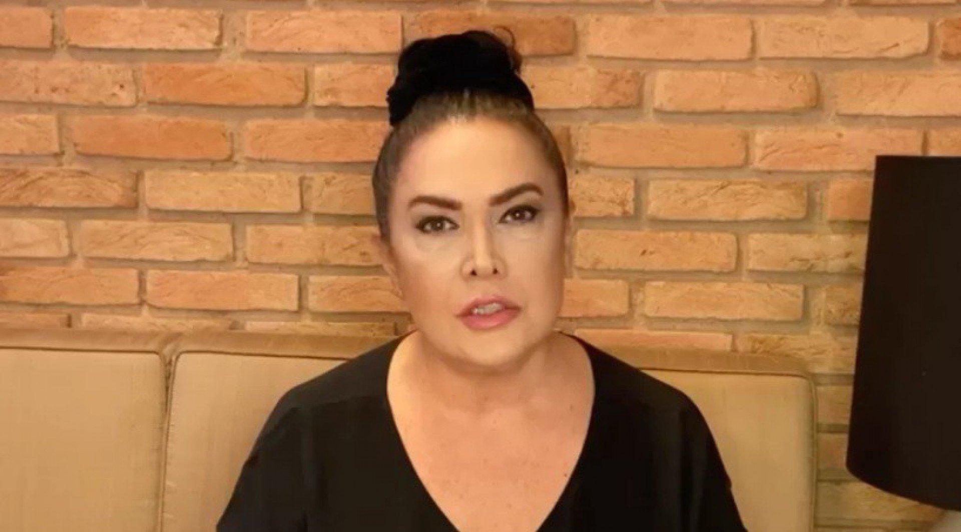 Cristina Kartalian, mãe de Fiuk (Foto: Reprodução)