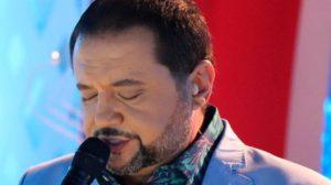 """Geraldo Luís no """"A Noite é Nossa"""" (Foto: Divulgação/Record)"""
