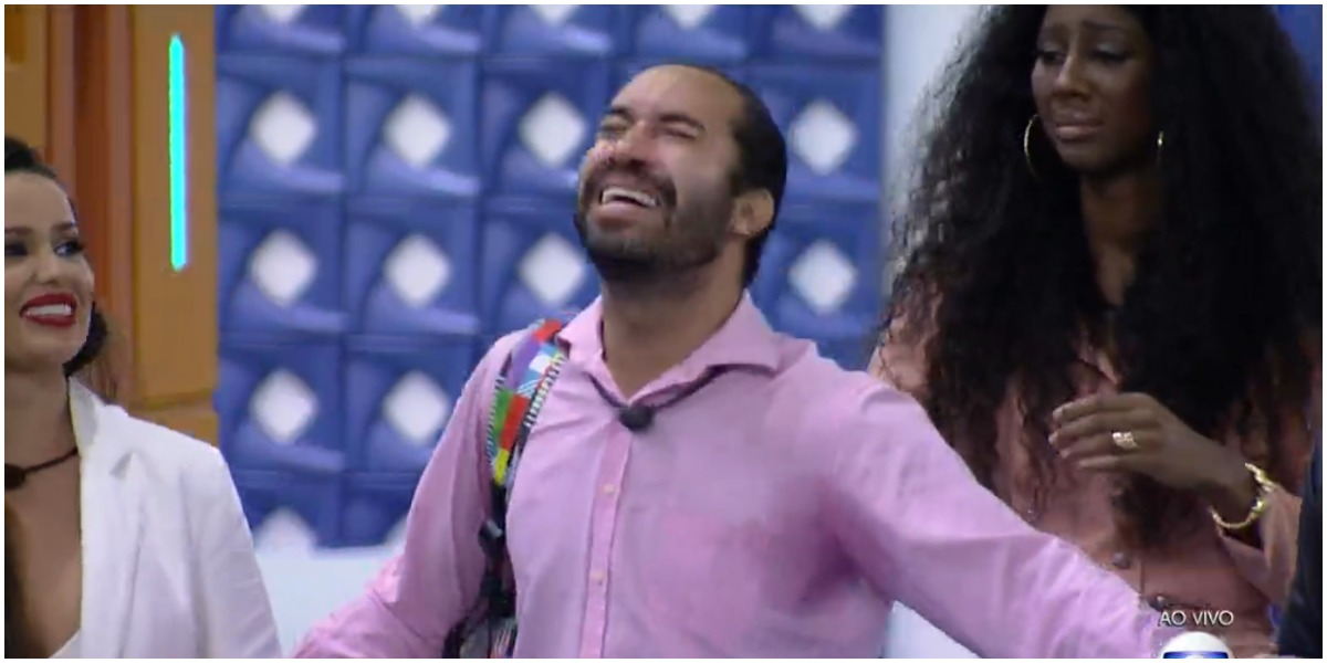 Gilberto foi eliminado do BBB21 neste domingo - Foto: Reprodução