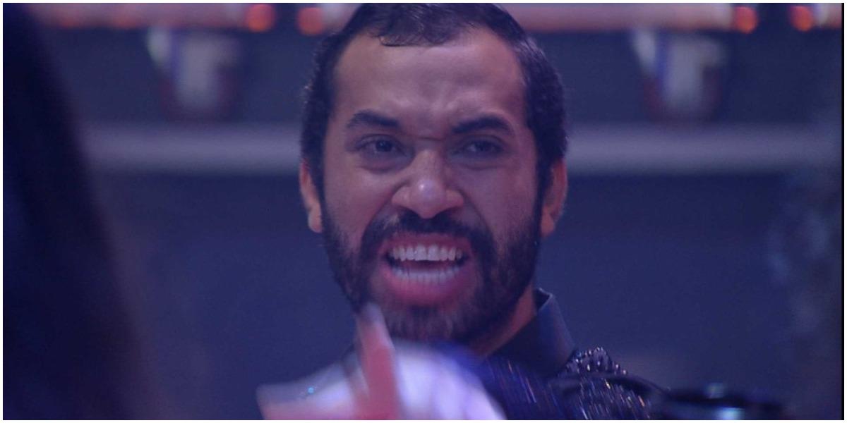 Gilberto causou na festa do BBB21 e disse que a produção havia organizado a sua despedida (Foto: Reprodução)