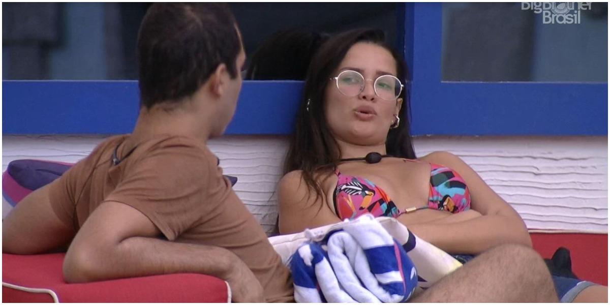 Gilberto tretou com Juliette no BBB21 - Foto: Reprodução