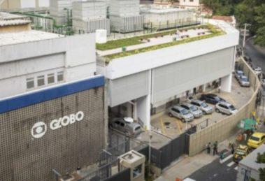 Sede da TV Globo na Zona Sul do Rio de Janeiro (Foto: Reprodução)