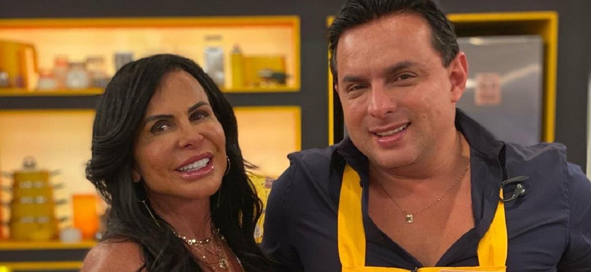 Gretchen e o marido Esdras de Souza (Foto: Reprodução/Instagram)