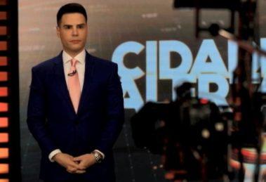 """Luiz Bacci é apresentador do """"Cidade Alerta"""" (Foto: Reprodução/Record)"""