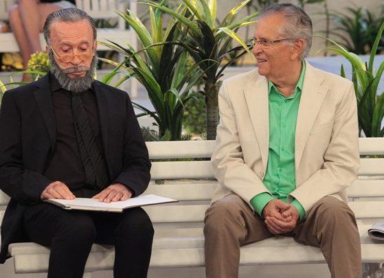 Moacyr Franco e Carlos Alberto