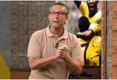 Neto se irrita com derrota do Corinthians e esbraveja nas redes sociais (Foto: Reprodução)