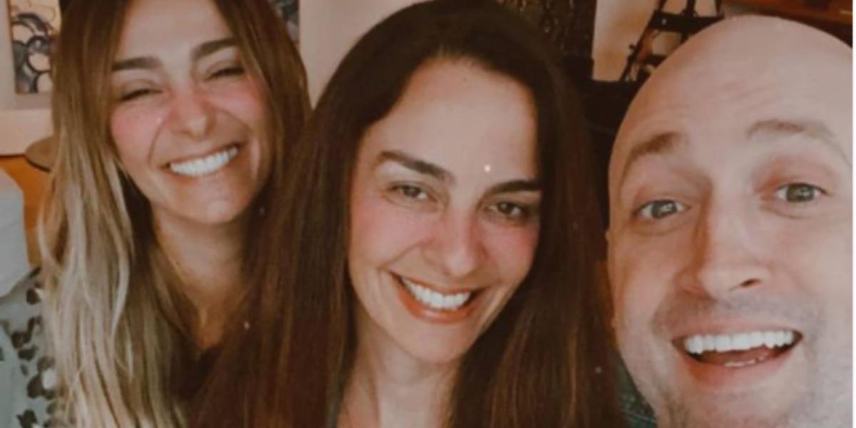 Amiga de Paulo Gustavo. Mônica Martelli, fez homenagem comovente para o ator (Foto: Reprodução)