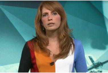 A jornalista Poliana Abritta, da Globo - Foto: Reprodução
