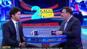 Ratinho expôs sua entrevista com o marido de Patrícia Abravanel (Foto: Reprodução)