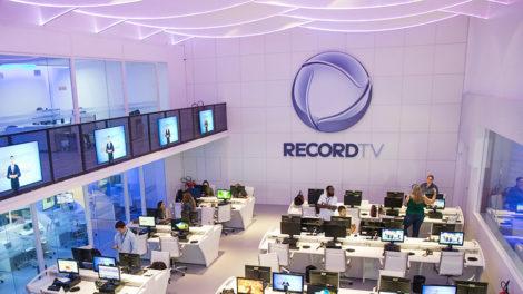 Record em São Paulo (Foto: Reprodução)